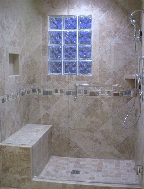 tiled shower bench tile showers with bench home design mannahatta us