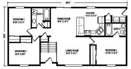 north mountain modular raised ranch floor plans north mountain modular raised ranch floor plans