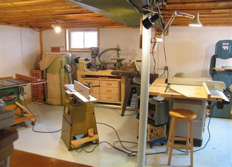 basement woodworking shop my basement workshop 2009