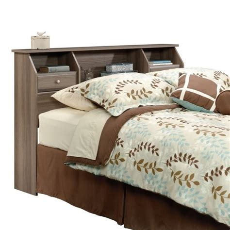 sauder headboard queen sauder shoal creek queen bookcase headboard headboards in