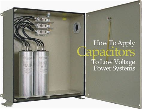 capacitors power factor how to apply capacitors to low voltage power systems eep