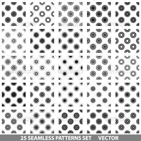 seamless pattern illustrator cs3 vector seamless patterns set graphicriver