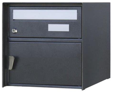 Schweiz Briefkasten Norm Briefkasten Verzasca Rustico Schwarz Strukturiert Wandmontage Huber Briefkastendirekt Ch