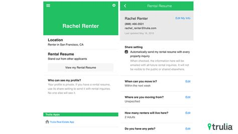 Rental Resume by Trulia Helps Renters Stand Out And Landlords Save Time