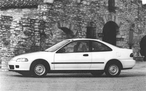 1993 honda civic value used 1993 honda civic pricing features edmunds