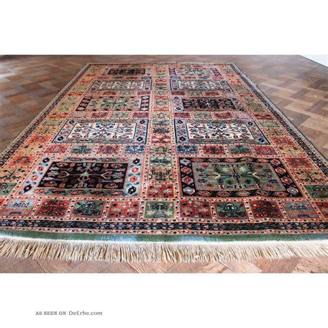 gewebter teppich sch 246 ner gewebter orient teppich felder nain carpet tappeto