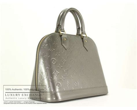 louis vuitton vernis alma bag authentic louis vuitton vernis alma pm bag