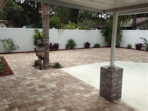 Florida Patios by Brick Pavers Ta Florida Patio Pavers Ta Driveway