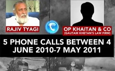Government Records Made In 1973 Revealed That The Fbi Revealed Call Records Show Air Chief Tyagi S Cousins Spoke To Agustawestland