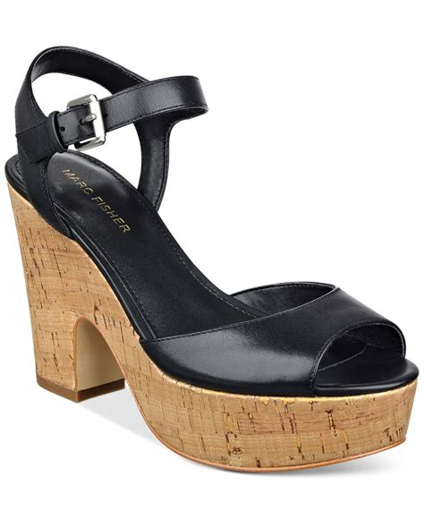 Richelle Sandal Wedges Calia 1 lyst marc fisher calia platform sandals in