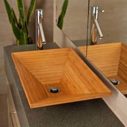 meuble salle de bain bambou et accessoires en 50 id 233 es