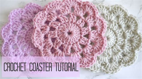 crochet how crochet how to crochet a coaster coco