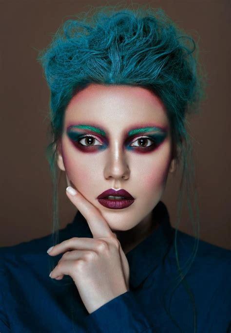 beauty garde 49 peacock beauty or art stunning avant garde makeup