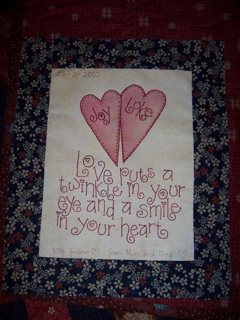 Wedding Wishes Labels by 27 Best Images About Quilt Labels On Quilt