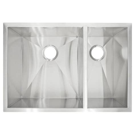 zero radius kitchen sink lclp3r zero radius undermount stainless steel basin