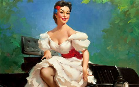 pin up wallpaper collections pin up girls wallpapers