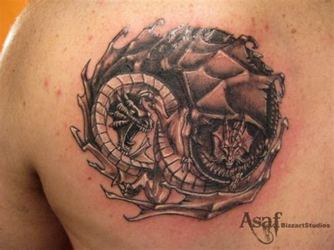 tattoo 3d yin yang art ying yang tattoos tattoo expo