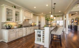 Mobile Kitchen Island Plans Gourmet Kitchen By Village Builders 174 A Lennar Luxury