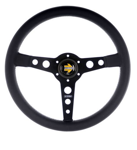 steering wheel momo prototipo steering wheel black