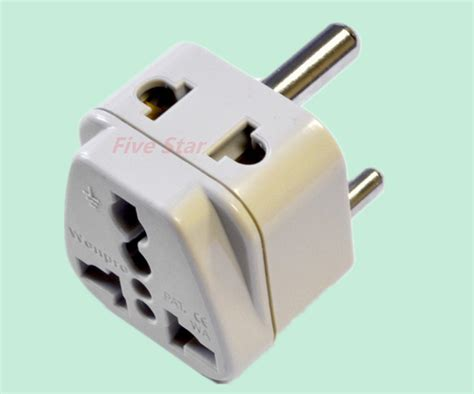 Socket D Ds Rucika 2 universal 2 in 1 adapter type d for india africa in electrical plugs sockets from home