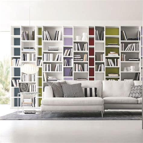 Bibliotheque Decoration De Maison d 233 coration salon 25 biblioth 232 ques design c 244 t 233 maison