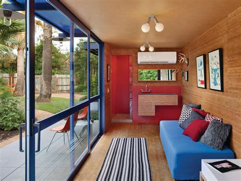 Shipping Container Homes Interior Design by Shipping Container Guest House By Jim Poteet