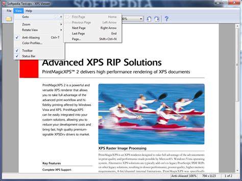 sle of xps file xps viewer