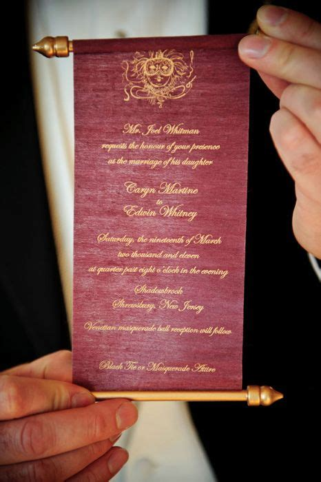 personal wedding invitation models personalized scroll wedding invite fairytale wedding