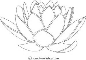 lotus flower template 9 best images of lotus flower stencils free printable