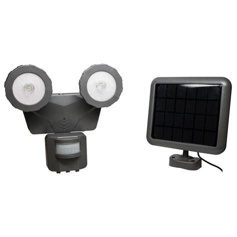 Solar Motion Light Home Depot by Novolink 160 176 Grey Solar Led Motion Outdoor 500 Lumen