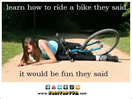 Bike Crash Meme - 30 most funniest bike meme pictures that will make you laugh
