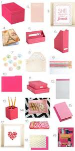 gallery for gt pink desk accessories for women