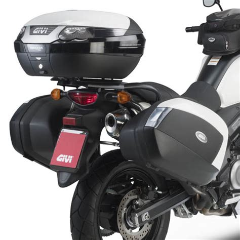 P R O M O Box Givi E43ntl Mulebox givi plx3101 plx series sidecase mounting kit suzuki v