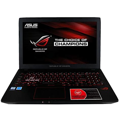 Laptop Asus I7 Ram 4gb cuk asus gl553 rog gamer laptop intel i7 7700hq