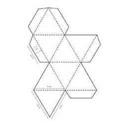 free geometric pattern maker octahedron design octahedron templates to print 3d