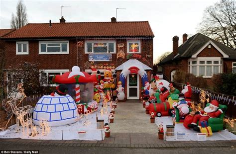 obnoxious christmas blowups the 12 days of obnoxious traditions