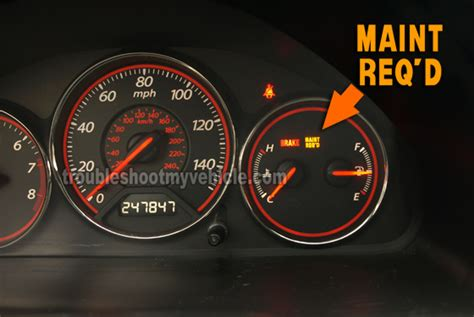 honda crv reset maintenance light how to reset the maintenance required light 2001 2005 1