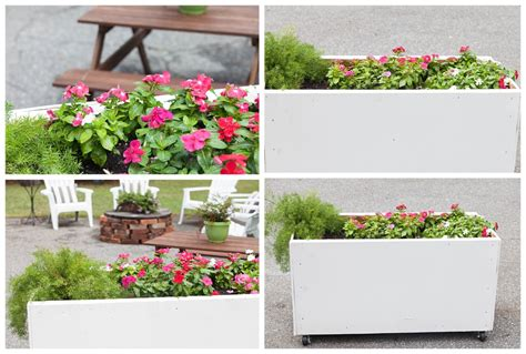 Shrubs For Planter Boxes by Diy Planter Boxes Backyard Update Restless Arrow