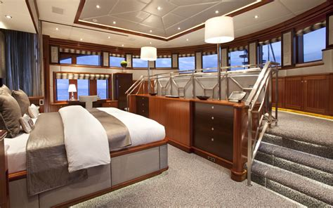 split master bedroom superyacht rockstar split level master suite yacht