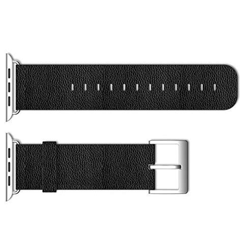 Samsung Gear Fit 2 Adapter Metal Connector Clasp Band genuine leather wrist band replacement w metal clasp for apple sport edition 42mm