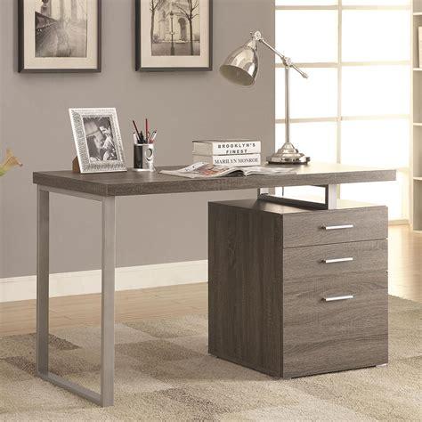modern desks carey gray washed desk eurway