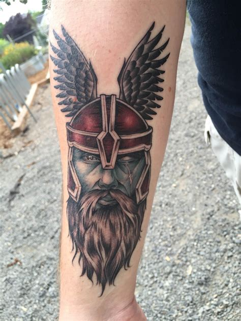 grizzly tattoo portland allfather by eric quale grizzly portland or