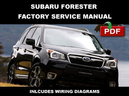 car repair manuals online free 2012 subaru forester electronic valve timing subaru 2011 2012 2013 2014 forester workshop repair service shop manual car truck manuals