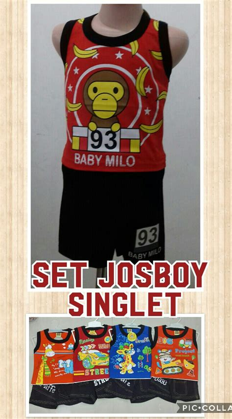 Busana Baju Pakaian Gamis Anak Laki Usia 03 Terbaru Keke Kp 462 supplier setelan josboy singlet anak laki laki murah 17ribuan