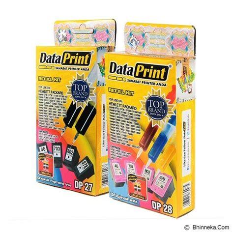 Tinta Dataprint Untuk Hp harga tinta dataprint tinta refill dp 27 dp 28 bhinneka