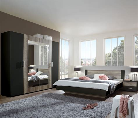 schlafzimmer komplettset kleiderschrank bett 180x200 - Kleiderschrank 180 X 200