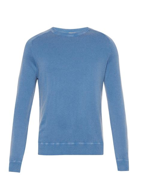 Light Blue Sweater by Massimo Alba Sport Sweater In Blue For Lyst