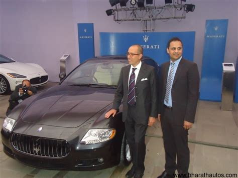 maserati delhi maserati supercars launched in india