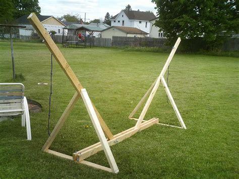 diy hammock chair stand clean of lawn hammock chair stand diy on the yard
