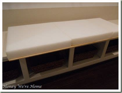 bench cushions ideas pinterest seat cushion foam storage bench seat ikea diy storage part